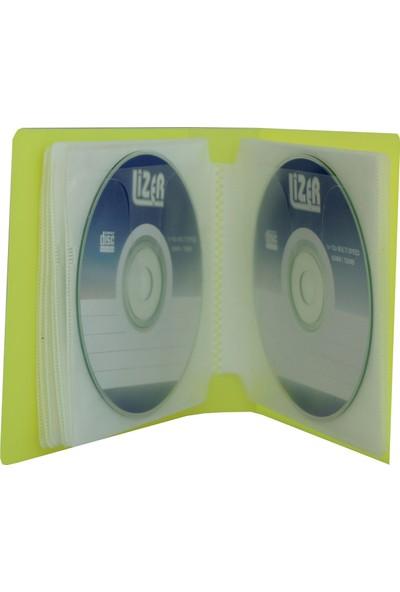 Lizer LP24 Sarı CD Çantası
