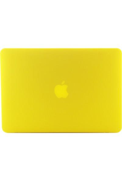 """Codegen Apple 13"""" Macbook Pro A1278 CD-ROM Sarı Kılıf Koruyucu Kapak CMP-133Y"""