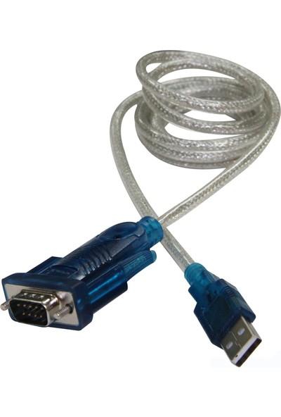 Flaxes FCK-URS232 USB 2.0 - RS232 Çevirici 1,5M