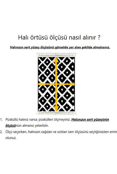 Ladystone Welsoft Lastikli Halı Örtüsü 4m2 (150x233cm) Pudra Mozaik