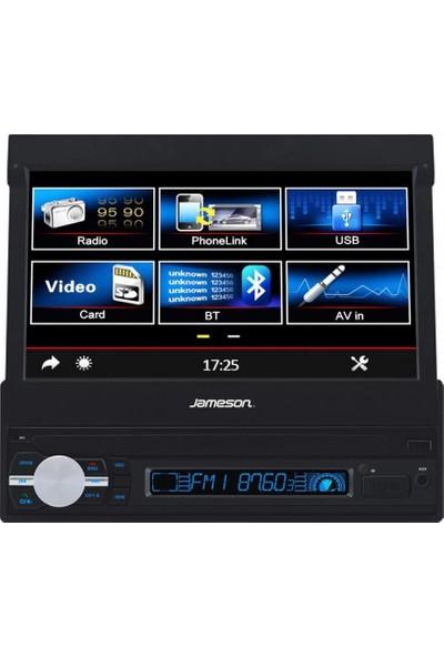 Jameson JS-905 7 İnç Navi̇gasyon USB Sd Kart Aux Radyo 4*52W Indash Oto Teyp