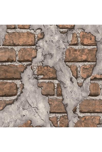Wall 212 3D Single 2011 Eskitme Tuğla Görünümlü Duvar Kağıdı