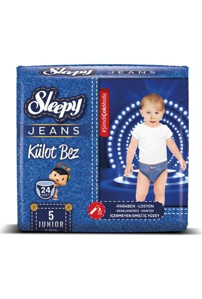 Sleepy Jeans Külot Bebek Bezi 24 Adet 5 Beden 11 - 18 kg