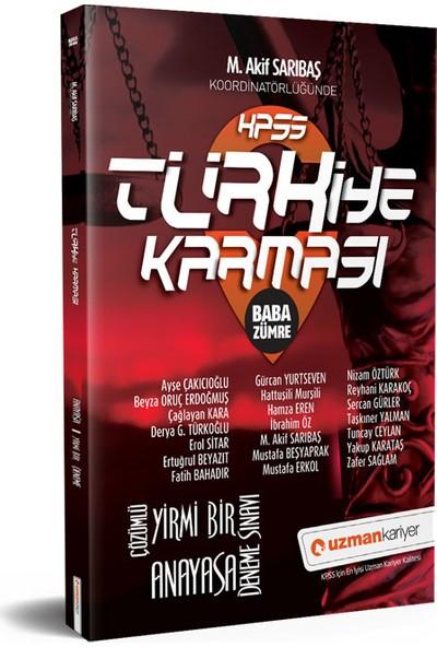 Uzman Kariyer KPSS Anayasa 21 Deneme Türkiye Karması Tamamı Çözümlü