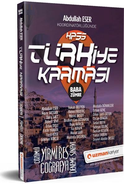 Uzman Kariyer KPSS Coğrafya 25 Deneme Türkiye Karması Tamamı Çözümlü