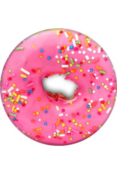 PopSockets Pink Donut Telefon Tutacağı