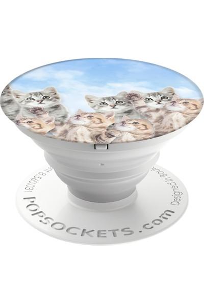 PopSockets Sky Kitties Telefon Tutacağı