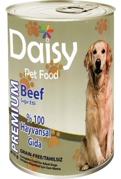 Daisy Tahılsız Sığır Etli Konserve Köpek Maması 415 gr 24'lü