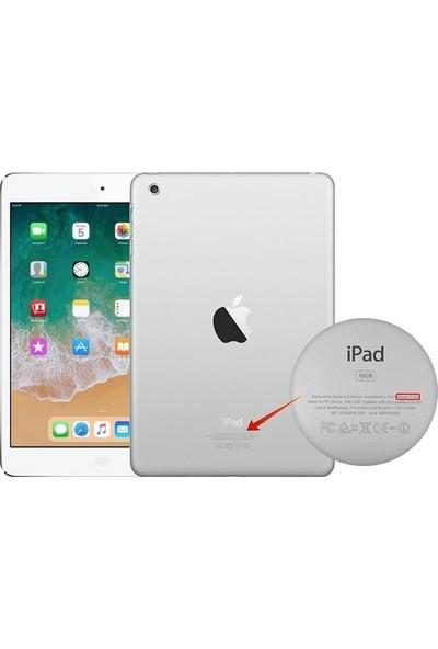 GoGo Apple iPad New 9.7 2017 A1822 A1823 6.Nesil Pembe Gül ve Çiçekler Baskılı Silikon Kılıf