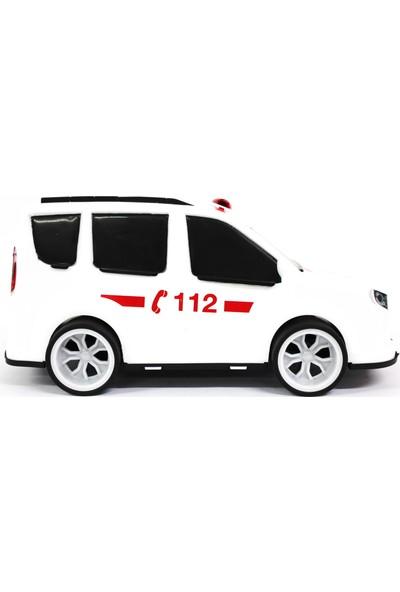 Çalkan Plastik Araba Ambulans 32 cm