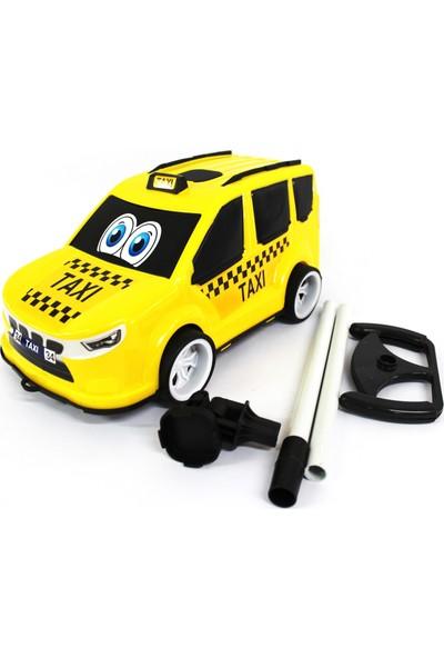 Çalkan Plastik Aksesuarlı Sarı Taxi 32 cm