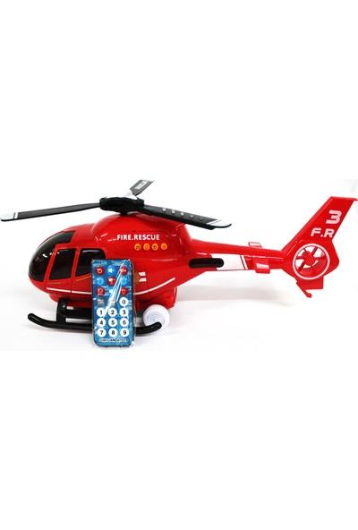 Canem Oyuncak Uzaktan Kumandalı Helikopter Kırmızı