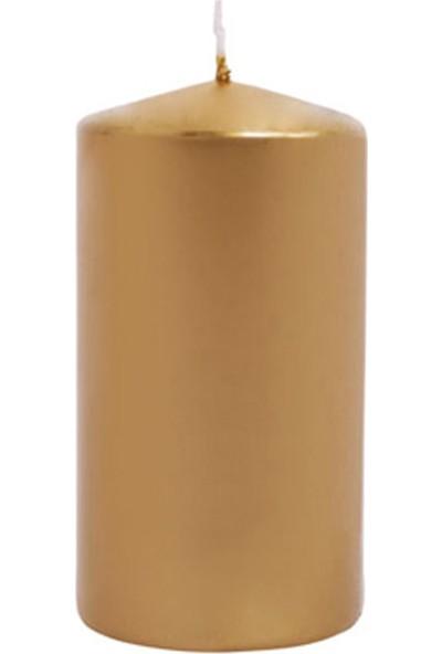Euro Flora Gold Kütük Mum Dore Lame 10X6 Cm