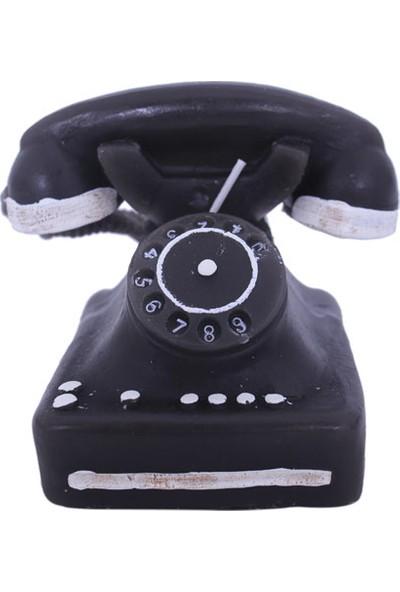 Euro Flora Dekoratif Mum Telefon 10X7X8 Cm