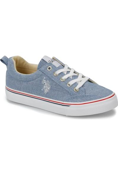 U.S. Polo Assn. Carol Lacivert Kadın Sneaker Ayakkabı