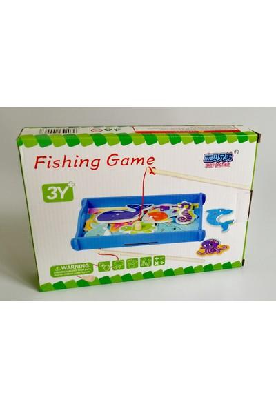 Wooden Toys Ahşap Balık Tutma Oyunu