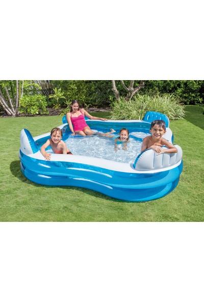 İntex Swim Center Family Lounge Pool 56475 / İntex Kolltuklu Şişme Havuz