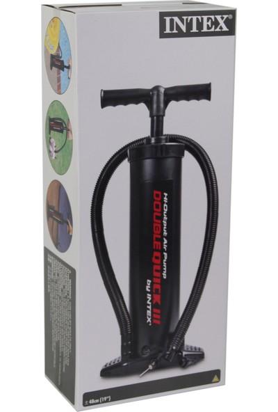 İntex 68615 Büyük Boy Şişirme Pompası - 48 Cm El Pompası