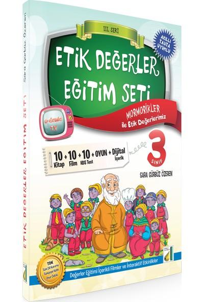Etik Değerler Eğitim Seti 3. Sınıflar İçin ( 10 Kitap+Hds )