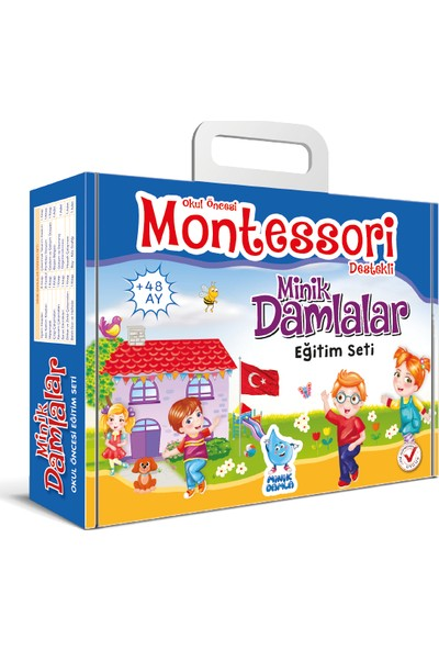 Minik Damlalar Eğitim Seti (Montessori Destekli)