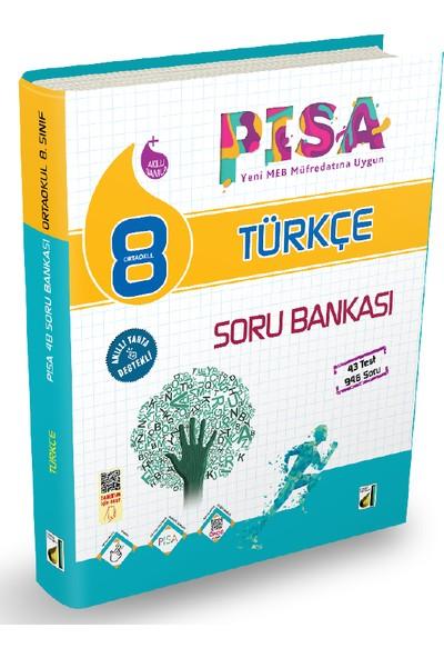 Damla 8. Sınıf Türkçe Pısa 4B Soru Bankası