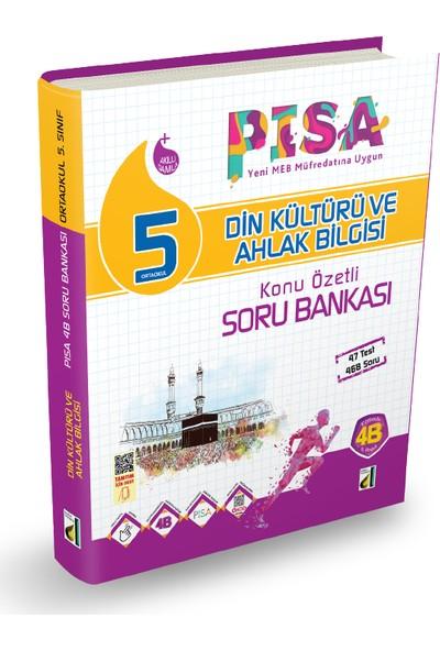 Damla 5. Sınıf Din Kültürü Ve Ahlak Bilgisi Pısa 4B Soru Bankası