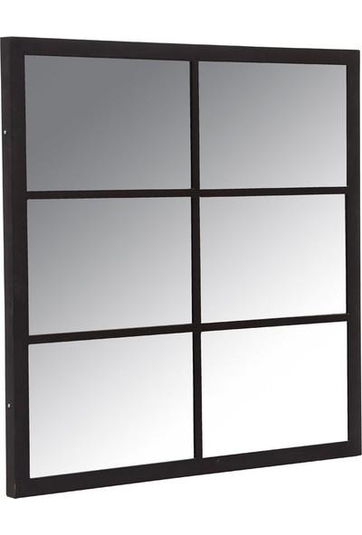 Monywood Endüstriyel Demir Dresuar Ayna Çerçevesi