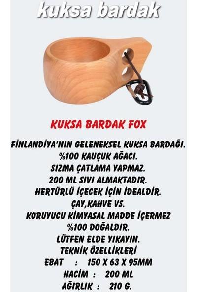 Nurgaz Kuksa Bardak Fox