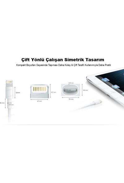 Crescent Apple iPhone iPad Lightning Data ve Şarj Kablosu