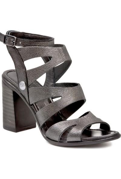 Mammamia D19YS 1505 Platın Terlik Sandalet