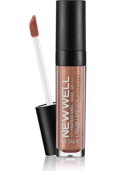 New Well Liquid Metalic Lipstick Ruj 352