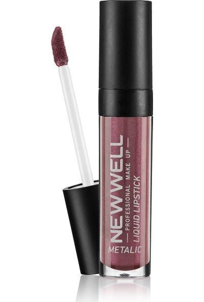 New Well Liquid Metalic Lipstick Ruj 356