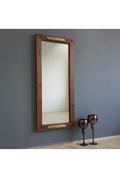 NEOSTİLL-Ahşap Çerçeve Ahşap Gold/Altın Süsleme Dekoratif Boy Ayna A501d