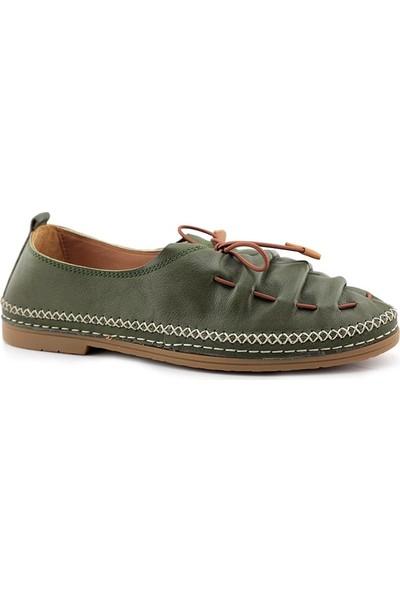 Estile 86601 Kadın Hakiki Deri Ayakkabı