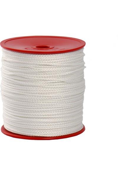 Globe 1,5 Mm Polyester Çok Amaçlı İp Halat - Beyaz - 200 M. - Makaralı