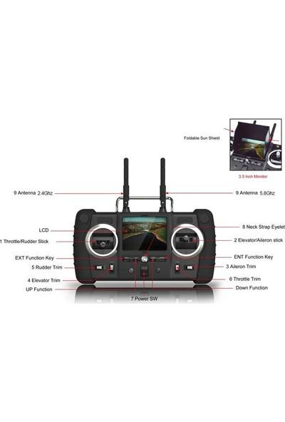 Hubsan Spyhawk Kameralı Kullanıma Hazır Planör Seti