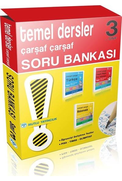 Mutlu Yayınları Çarşaf Çarşaf 3. Sınıf Soru Bankası Seti
