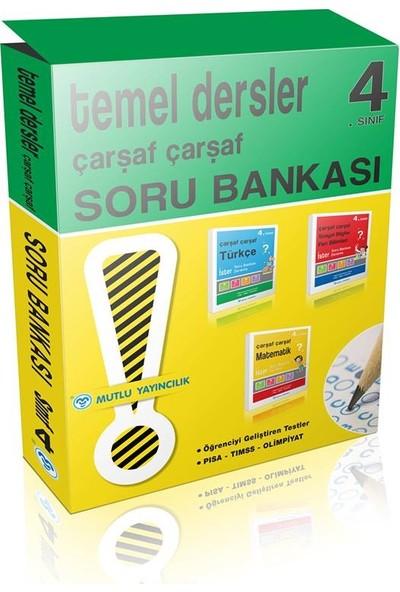 Mutlu Yayınları Çarşaf Çarşaf 4.Sınıf Soru Bankası Seti