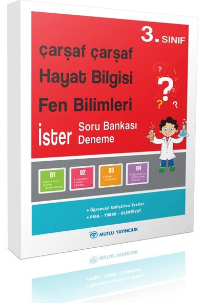 Mutlu Yayınları Çarşaf Çarşaf Hayat Bilgisi-Fen Bilimleri 3.Sınıf