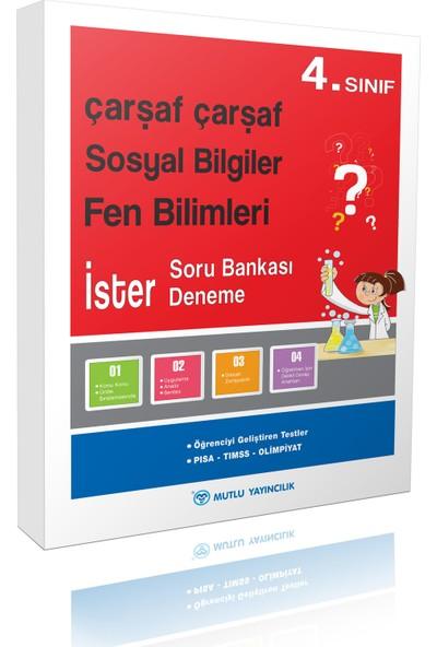 Mutlu Yayınları Çarşaf Çarşaf Sosyal Bilgiler-Fen Bilimleri 4.Sınıf