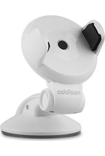 Addison ADS-55 Universal Ayarlanabilir Beyaz Araç Telefon Tutucu