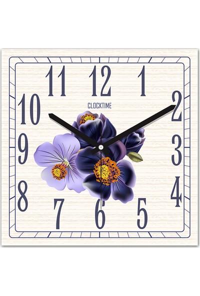 Clocktime By Cadran 30x30 Cm MDF Duvar Saati CTM164