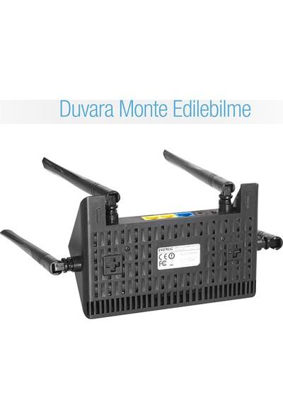 Everest Ewr-521N4 Smart (App Control) 300 Mbps Repeater+Access Point+Bridge Kablosuz Router