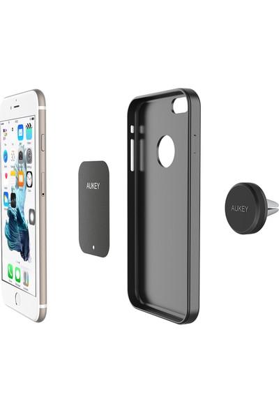Aukey Manyetik Araç İçi Tüm Cihazlara Uyumlu Cep Telefonu Tutucu Mıknatıslı - HD-C5