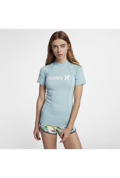 Hurley W One & Only Rashguard S/S Kadın Licra Sor Üstü