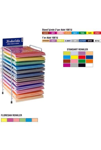 Keskin Color 10'Lu Karışık Floresan Elişi Kağıdı