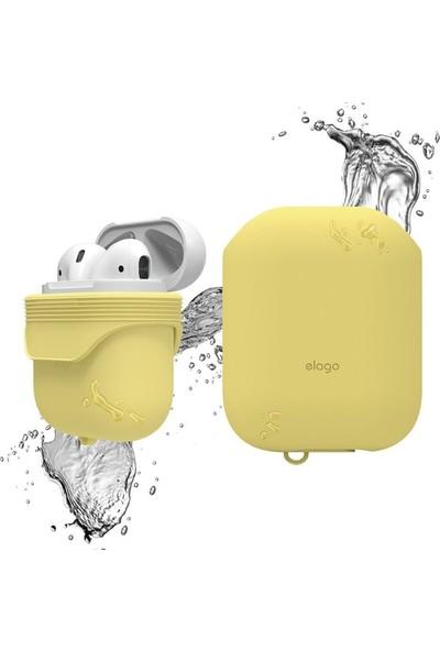 Elago Apple Airpods Su Geçirmez Kılıf Waterproof Case - Sarı
