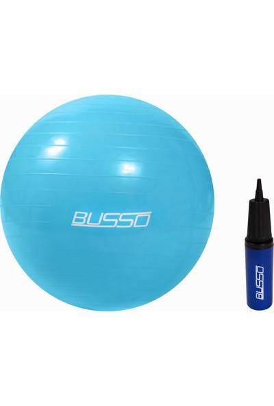Busso GYM-65 65cm Pilates Topu Kutulu ve Pompalı