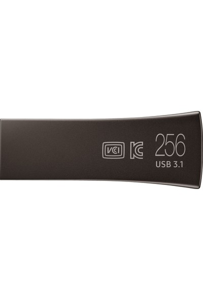 Samsung Bar Plus 256GB 300/80MB/s USB 3.1 USB Bellek Titan Gri MUF-256BE4/APC