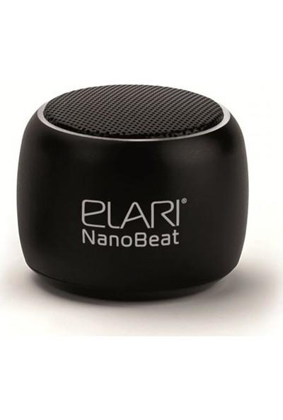 Elari NanoBeat Mini 3W Bluetooth Kablosuz Hoparlör - TWS Çift Hoparlör Bağlantısı - Siyah